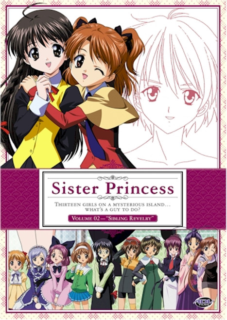 Sister Princess DVD Vol. 02