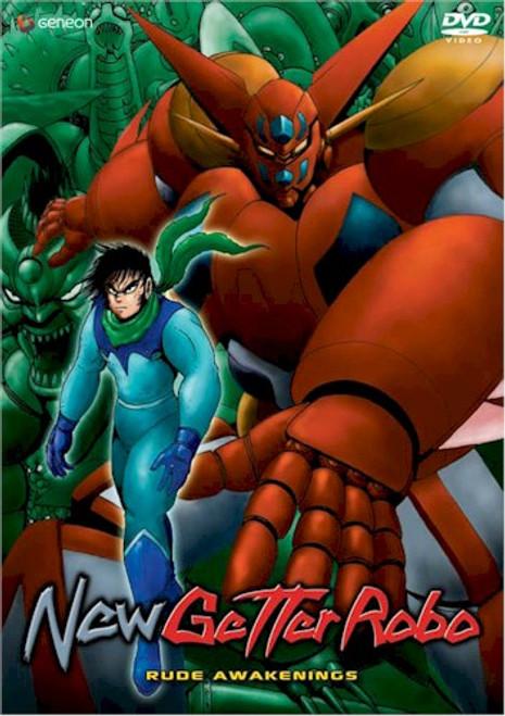 New Getter Robo DVD 01 Rude Awakenings