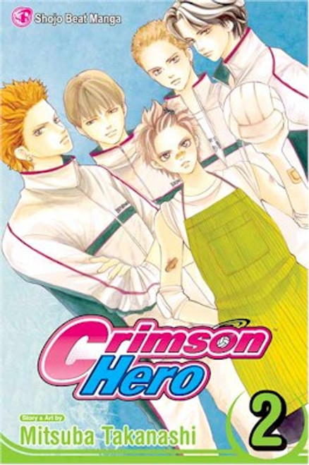 Crimson Hero Graphic Novel 02