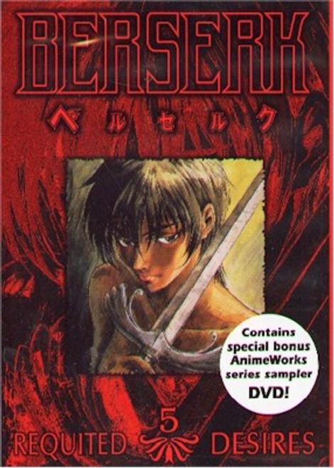 Berserk DVD Vol. 05 : Requited Desires (Used)