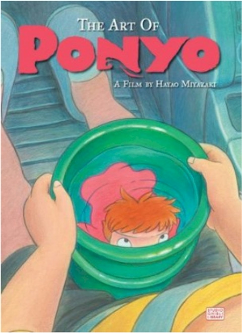 The Art of Ponyo Art Book (HC)