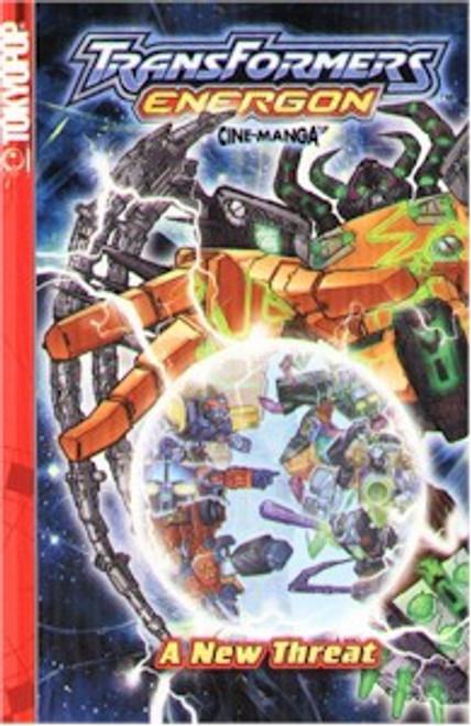 Transformers Energon Cine-manga 01 A New Threat