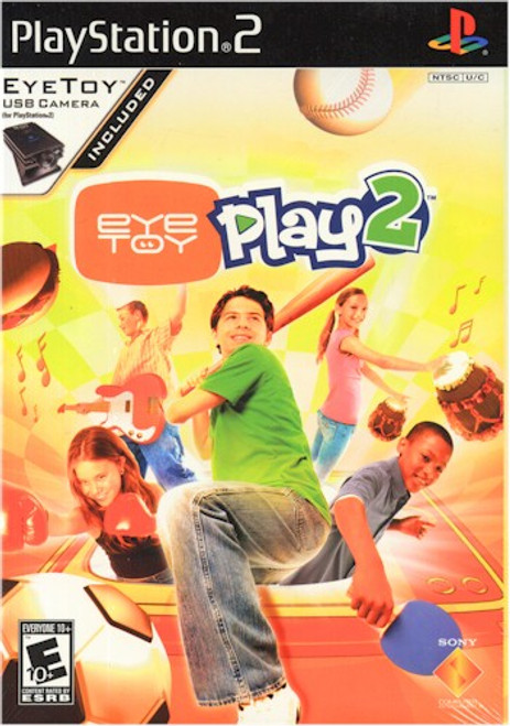Eye Toy Play 2 w/Camera (PS2)