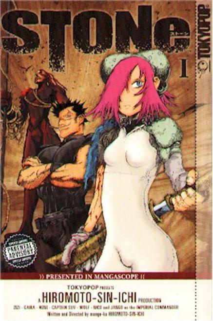 Stone Graphic Novel Vol. 01