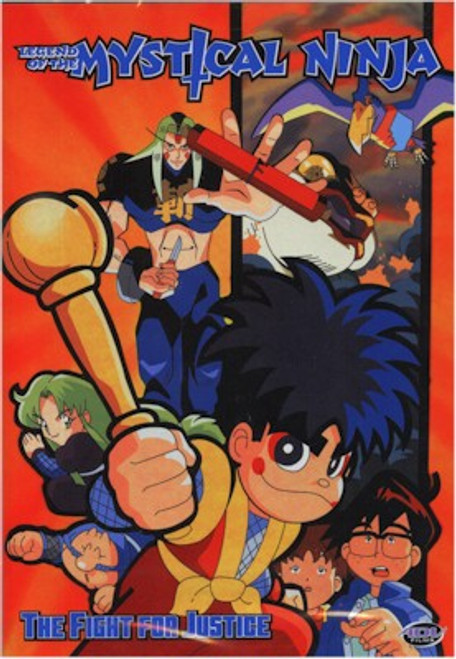 Legend of the Mystical Ninja DVD Vol. 02