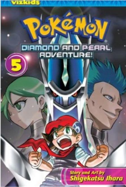 Pokemon Diamond and Pearl Adventure Graphic Novel 05