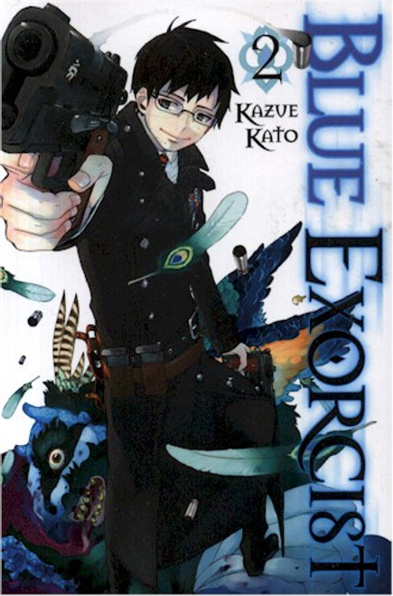 Blue Exorcist Graphic Novel Vol. 02