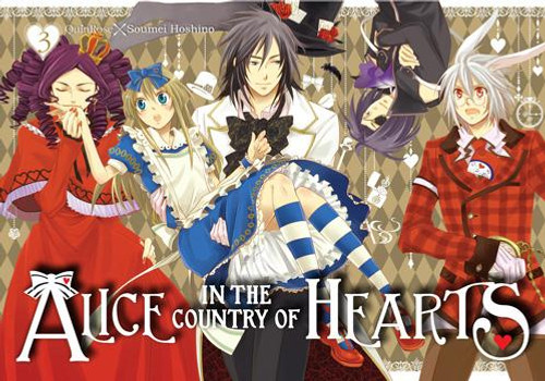 Alice in the Country of Hearts Graphic Novel Vol. 03