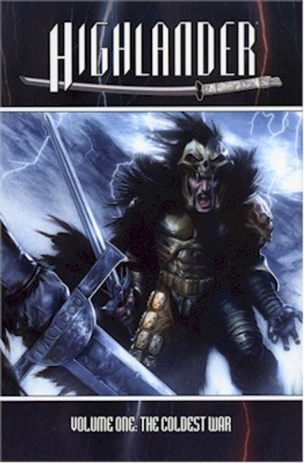 Highlander Coldest War Hardcover Direct Market Edition 01