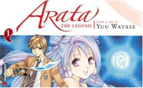 Arata: The Legend Graphic Novel 01