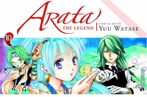 Arata: The Legend Graphic Novel 10