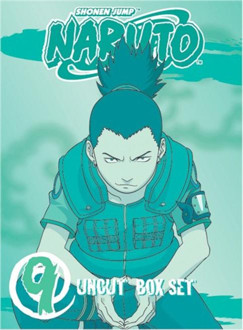 Naruto Uncut DVD Box Set 09 (Used)