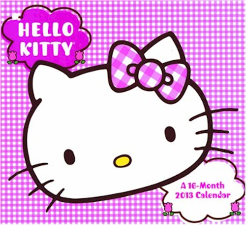 Hello Kitty 16-Month 2013 Wall Calendar