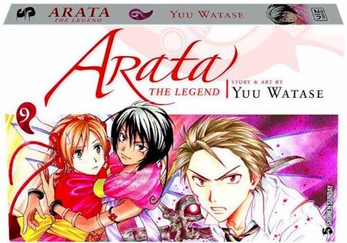 Arata: The Legend Graphic Novel 09