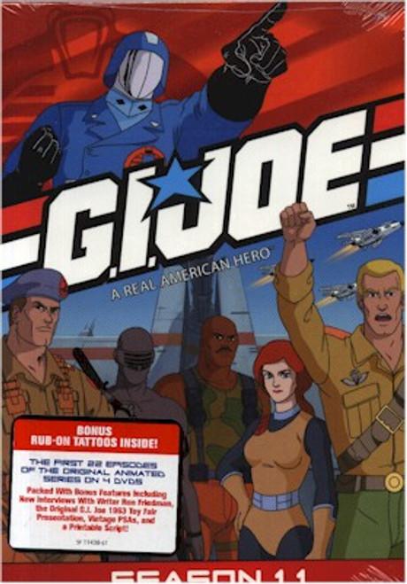 GI Joe Season 1.1 DVD Box Set