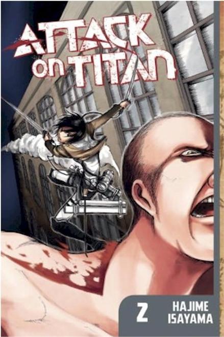 Attack on Titan Graphic Novel 02