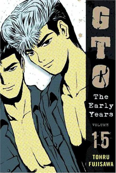 GTO The Early Years Shonan Junai Gumi Graphic Novel 15