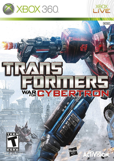 Transformers War For Cybertron Xbox 360 Used Anime Castle
