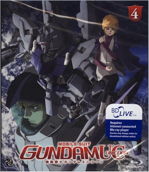 Mobile Suit Gundam UC Unicorn Episode 4 Blu-ray