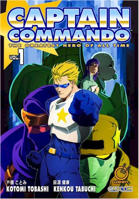 Captain Commando Graphic Novel 01
