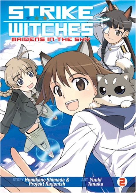 Strike Witches: Maidens in the Sky Graphic Novel 02