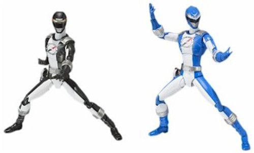 Power Rangers Operation Overdrive S.H.Figuarts Blue & Black
