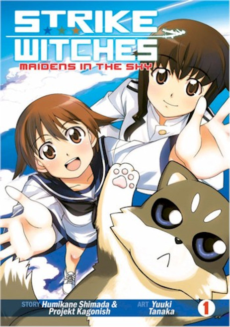Strike Witches: Maidens in the Sky Graphic Novel 01