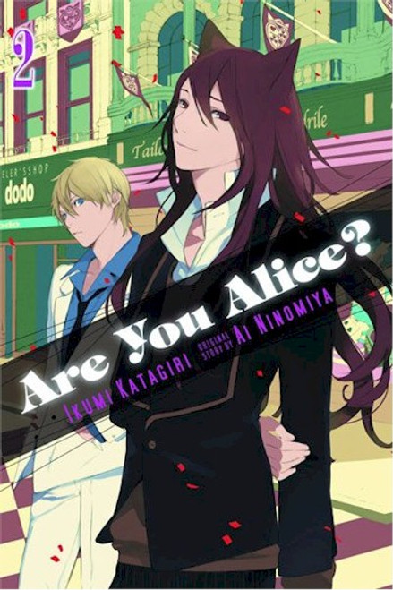 Are You Alice? Graphic Novel 02