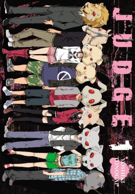 Judge Graphic Novel 01