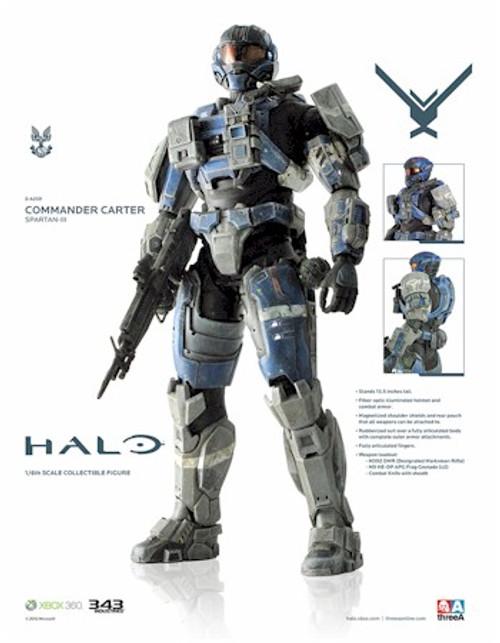 Halo Reach ThreeA 1/6 Scale - Commander Carter A259