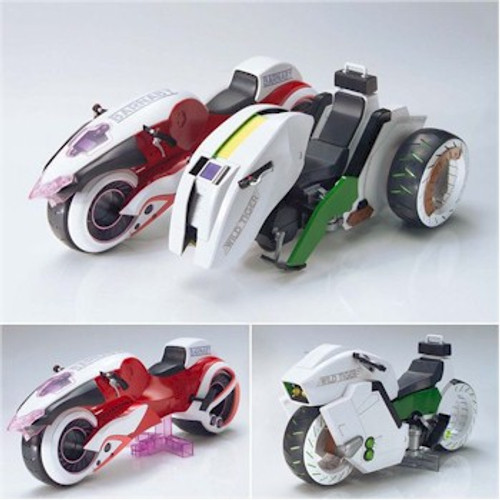 Tiger & Bunny Figure-rise 6 Model Kit - Double Chaser