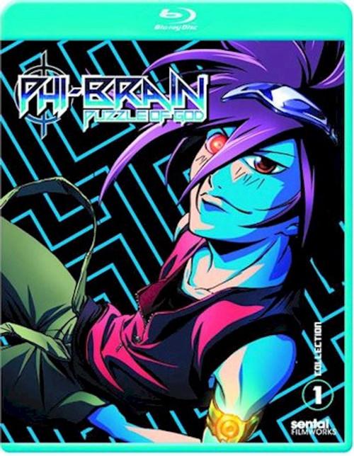 Phi-Brain Season 1 Collection 1 Blu-ray