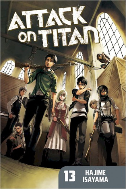 Attack on Titan Graphic Novel 13
