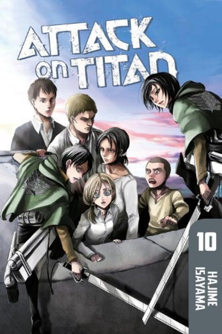 Attack on Titan Graphic Novel 10