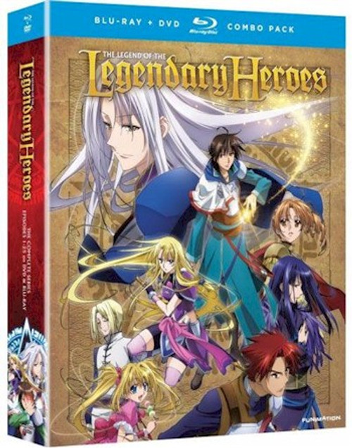 Legend of the Legendary Heroes Complete Blue-ray/DVD Combo