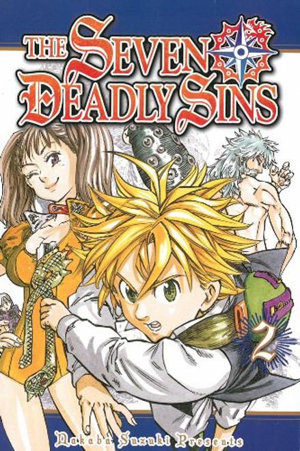 Seven Deadly Sins Graphic Novel Vol. 02