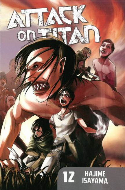 Attack on Titan Graphic Novel 12
