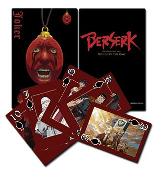 Berserk Playing Cards