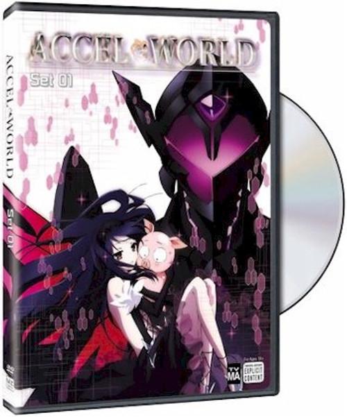 Accel World Set 1 DVD