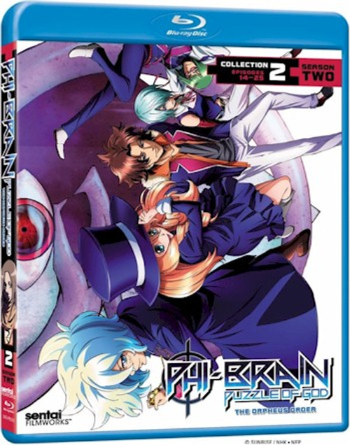 Phi-Brain Season 2 Collection 2 Blu-ray