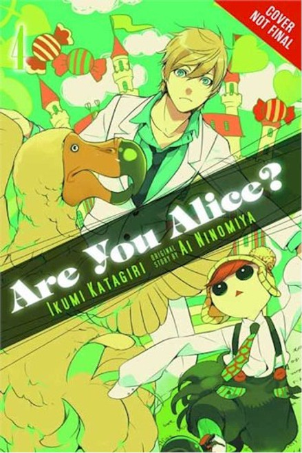Are You Alice? Graphic Novel 04