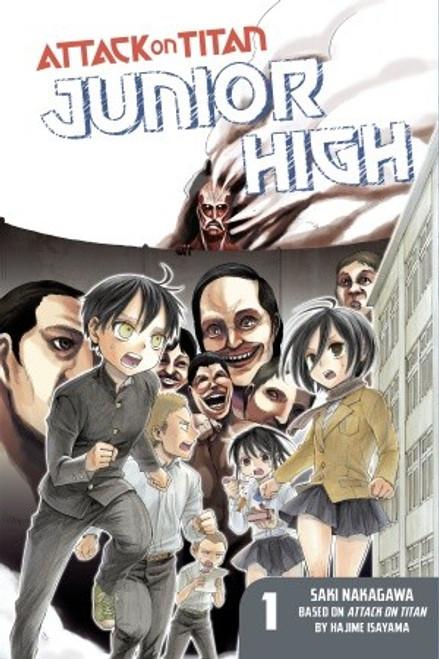Attack on Titan - Junior High Graphic Novel 01
