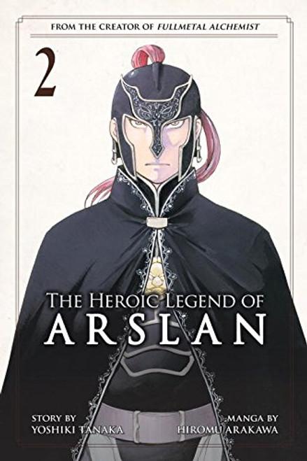 Heroic Legend of Arslan Graphic Novel 02