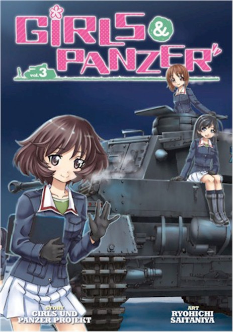 Girls Und Panzer Graphic Novel Vol. 03