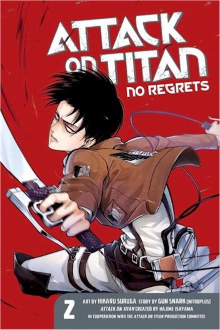 Attack on Titan - No Regrets Graphic Novel 02