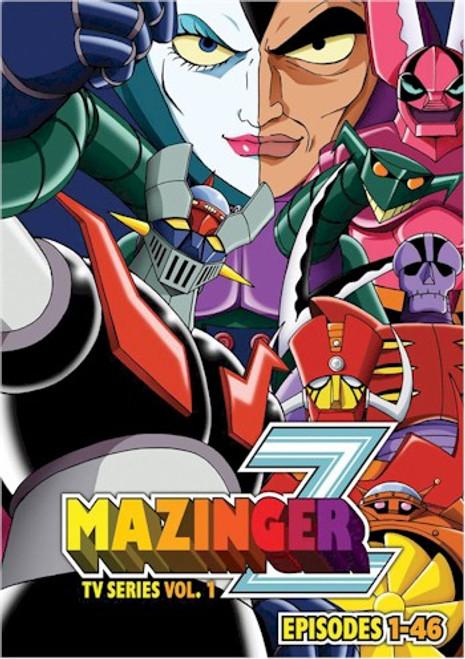 Mazinger Z TV Series DVD Set 1