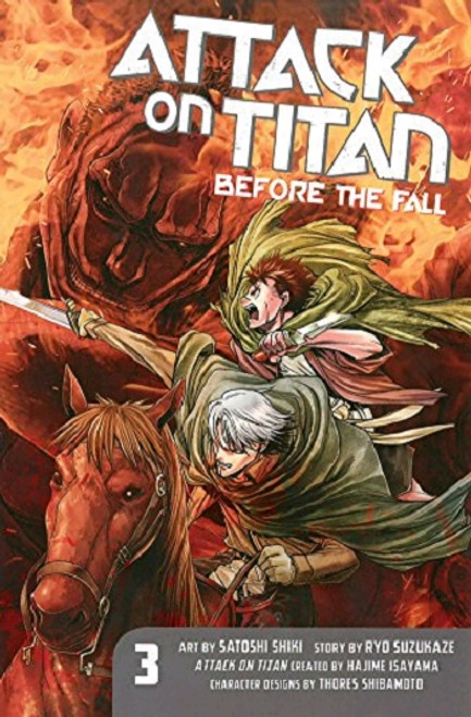 Attack on Titan: Before the Fall Graphic Novel 03