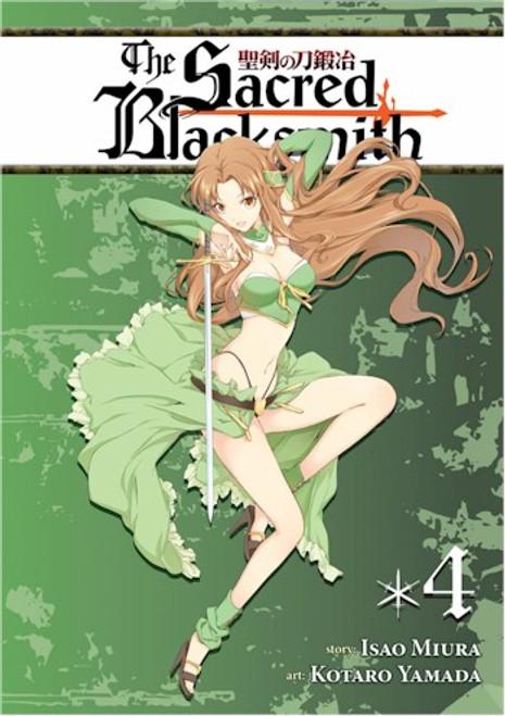 Sacred Blacksmith Graphic Novel 04