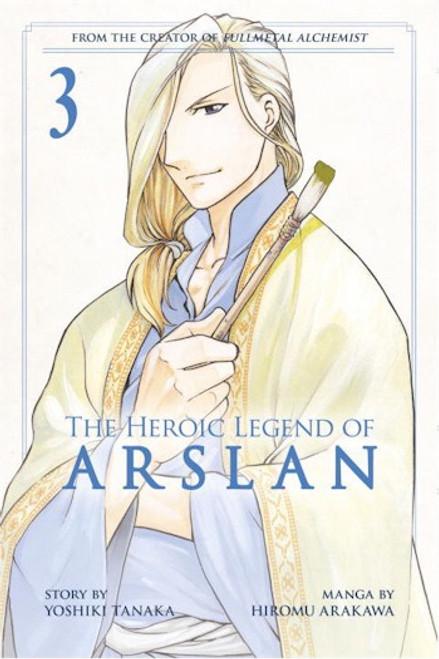 Heroic Legend of Arslan Graphic Novel 03