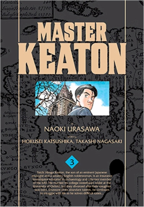 Master Keaton Graphic Novel 03